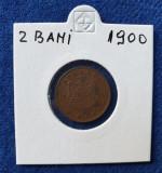 Moneda 2 Bani 1900 Regele Carol - piesa in stare foarte buna
