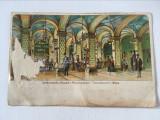 Carte postala veche vedere berarie Spattenbrau-Keller Viena, 1901, necirculata