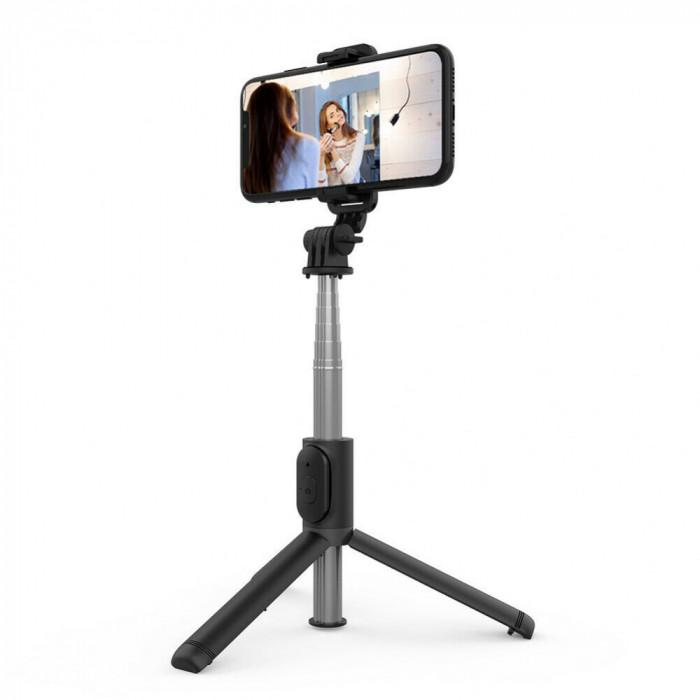Selfie Stick Tripod iPhone Android  cu Bluetooth si Telecomanda