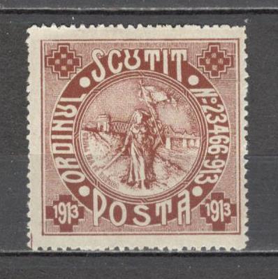 Romania.1913 Scutit de porto-Silistra  CR.413