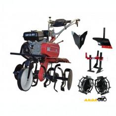 Motocultor   SR1Z-80-Roti Metalice,Rarita Fixa,Plug Arat,Prasitoare