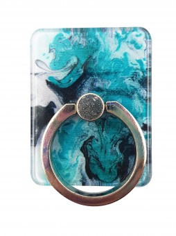 Suport telefon Diamonds tip inel metalic model Marble foto