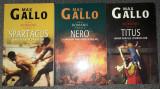 Max Gallo - Romanii (vol. 1-3, Spartacus, Nero, Titus)