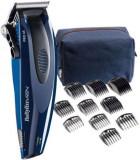 Aparat de tuns BaByliss Clipper Limited Edition E954PE, Lame 45 mm, Indicator LED, Autonomie 40 minute (Albastru)