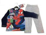 Pijama albastru cu gri Spiderman 3-8ani