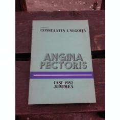 ANGINA PECTORIS - CONSTANTIN I. NEGOITA