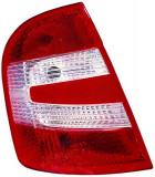 Cumpara ieftin Stop tripla lampa spate stanga (semnalizator alb, culoare sticla: rosu) SKODA FABIA HATCHBACK 2004-2008