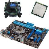 Kit placa de baza second hand Asus P8H61-MX, Intel i5-2500, Cooler