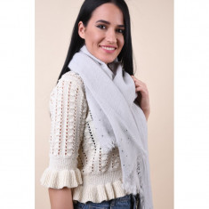 Fular Dama Pieces Mia Long Scarf Gri