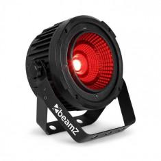 Beamz COB50, reflector LED, Mod DMX-/Standalone, 9 canale DMX, negru