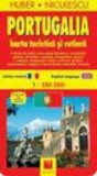 Harta Portugaliei - turistica si rutiera/Huber Niculescu