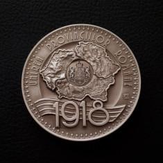 Medalie argint Marea unire de la Alba Iulia  - Ferdinand I