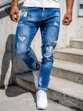 Blugi slim fit bleumarin Bolf 85006S0