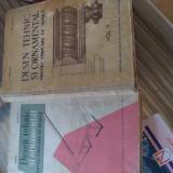 Desen tehnic si ornamental pentru tâmplarii de mobila