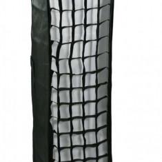 Cumpara ieftin Softbox strip 30x120cm cu grid honeycomb montura Elinchrom