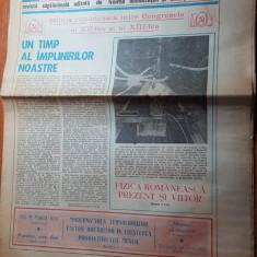 magazin 3 noiembrie 1984-canalul dunare marea neagra,biogazul in jud. giurgiu