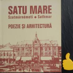 Poezie si arhitectura Satu Mare