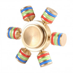 Jucarie Smart Antistres Fidget Spinner demontabil cu 6 brate