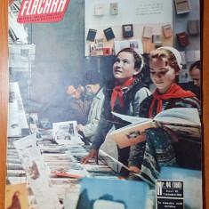 """Flacara 1 noiembrie 1958-combinatul agroalimentar """"30 decembrie 1947"""" bucuresti"""