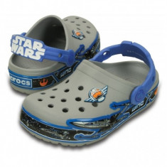 Saboți Copii casual Crocs Lights Star Wars Xwing Clog