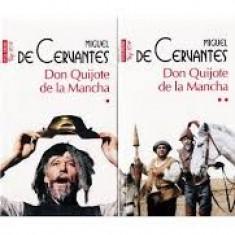 DON QUIJOTE DE LA MANCHA - MIGUEL DE CERVANTES VOL.I+II
