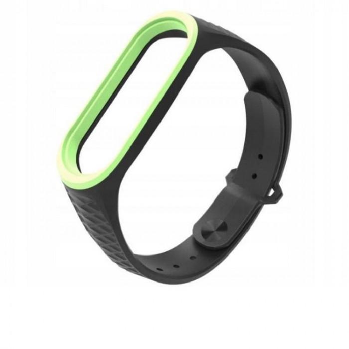 Curea silicon Tech-Protect Sporty Xiaomi Mi Band 3/4 Black/Yellow