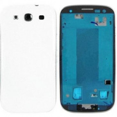 Carcasa Samsung I9300 Galaxy S3 Originala Alba
