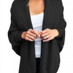 BL1006-1 Cardigan tricotat cu maneci lungi tip liliac