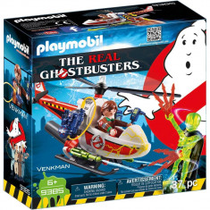 Playmobil Ghostbuster - Venkman si elicopter