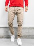 Pantaloni bărbați bej Bolf KA951