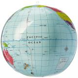 Glob pamantesc gonflabil fara lumina Learning Resources, 30 cm, 5 - 10 ani