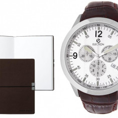 Set CEAS ELECTION SPORT MASTER WHITE BROWN LEATHER si Note Pad Burgundy HUGO BOSS