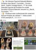 """Statuetă Figurină Bibelou Porțelan Arpo """" Barză Cocostârc Ciconia Stork Pasăre """""""