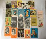 Lot 22 calendare de buzunar anul1983, colectie, vintage