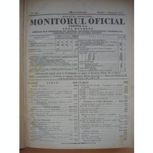 REGATUL ROMANIEI - MONITORUL OFICIAL ( partea I ) - LUNA IUNIE 1934