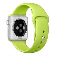 Curea pentru Apple Watch 38 mm Silicon iUni Green