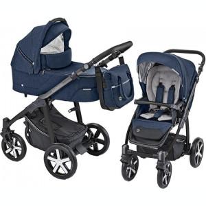 Carucior Multifunctional Baby Design Husky 03 Navy 2019 (winter pack)