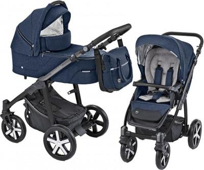 Carucior Multifunctional Baby Design Husky 03 Navy 2019 (winter pack) foto