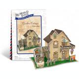 Puzzle 3D CubicFun CBFB Casa cu gradina