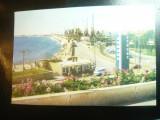 Ilustrata Constanta - Vedere din Port si vechiul Restaurant Vraja Marii ,anii60, Necirculata, Printata