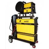 Aparat de sudura tip invertor ProWeld MIG-500Y, 500 A, 50 Hz, 25.3 kVA, trifazat, IP 21, derulator detasabil