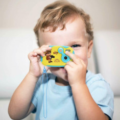 Camera video digitala pentru copii, HD, 5 mpx, multicolor, Gonga