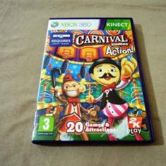 Joc Kinect Carnival Action Games, XBOX360, original, alte sute de jocuri!, Sporturi, 3+, Multiplayer