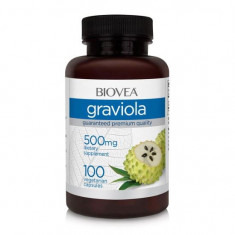 Graviola, Biovea, 500 Mg, 100 Capsule