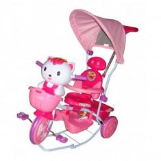 Tricicleta EURObaby Hello Kitty - Roz