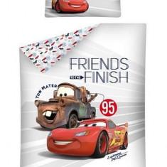 Lenjerie de pat Disney Cars 100x135 cm