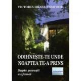 Odihneste-te unde noaptea te-a prins - Victoria Dragu-Dimitriu