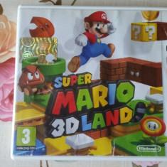 vand joc colectie,nintendo 3ds ,seria MARIO, SUPER MARIO 3D LAND