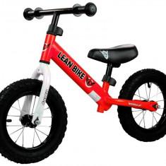 Bicicleta fara pedale Rocky cu roti gonflabile, rosu