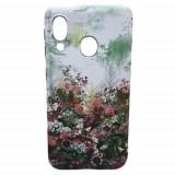 Cumpara ieftin Husa Telefon Plastic Samsung Galaxy A20e a202 Green Flowers